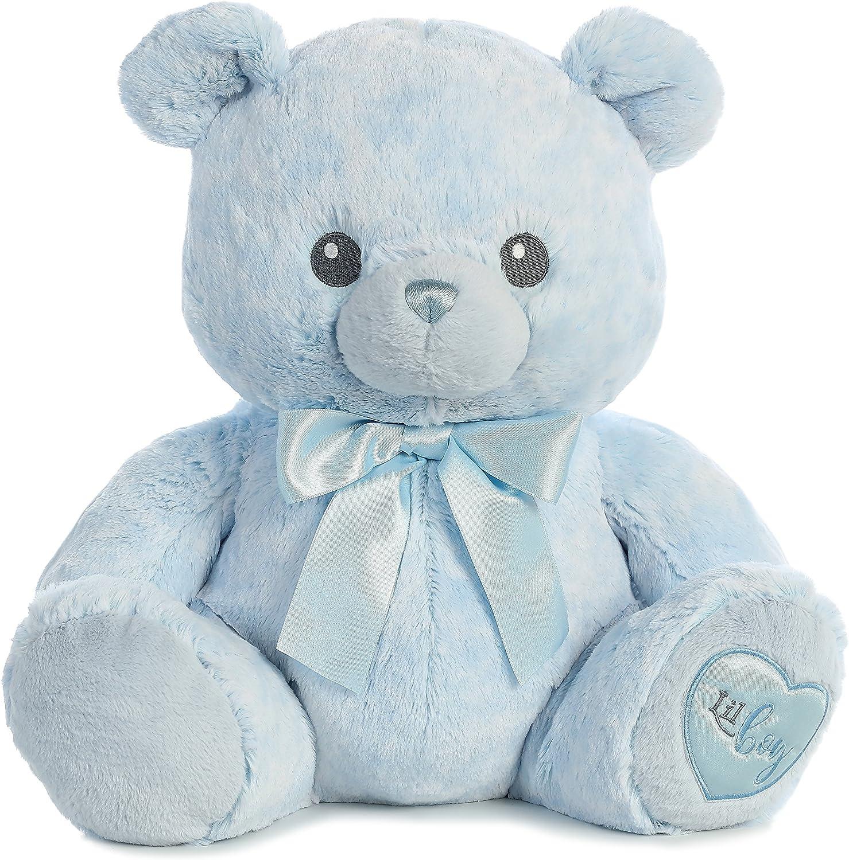 EBBA Yummy Blue Baby Plush Teddy Bear 12