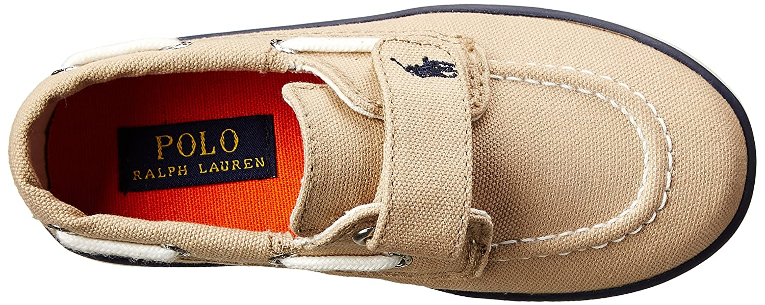 Amazon.com   Polo Ralph Lauren Kids Sander EZ Canvas Fashion Boat Shoe  (Toddler Little Kid)   Athletic fcceb897d6c4