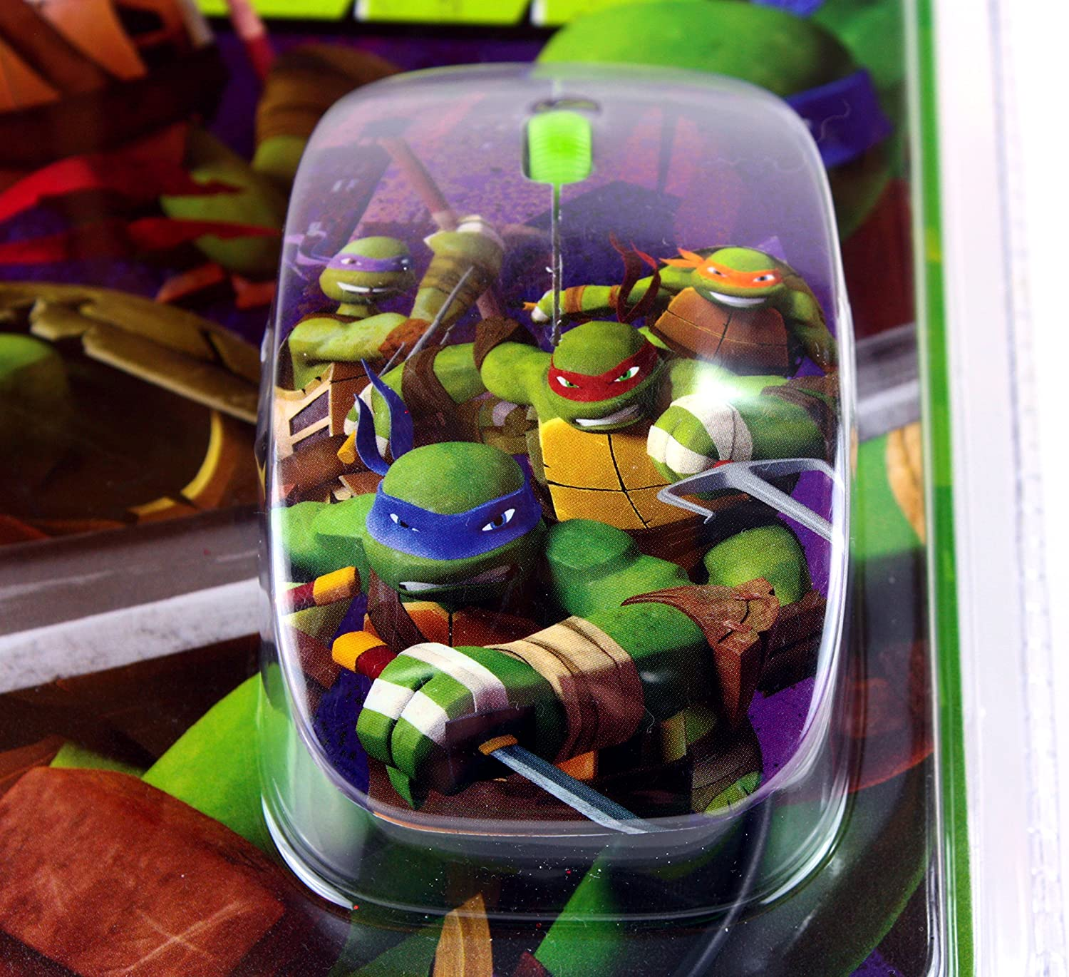 Nickelodeon Teenage Mutant Ninja Turtles Mouse//Mousepad Combo