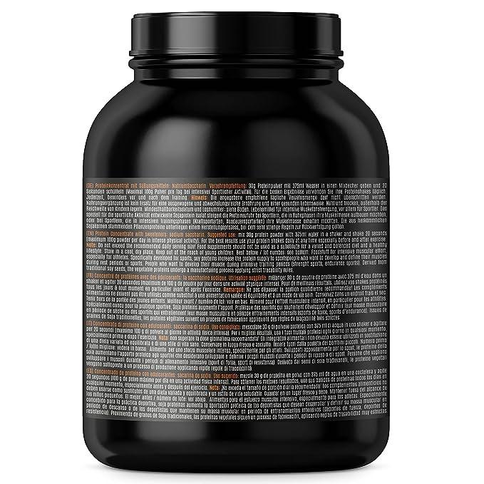 Soja Isolate GOLD - (100% vegetariana de proteína de soja natural, aislado lactosa, proteína natural), 1000g banana