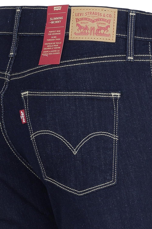 9d6c24eb941d0b Levi's Skinny Jeans Slimming Skinny 0000 Scenic Drive, Color: Dark Blue,  Size: 26/32: Amazon.co.uk: Clothing