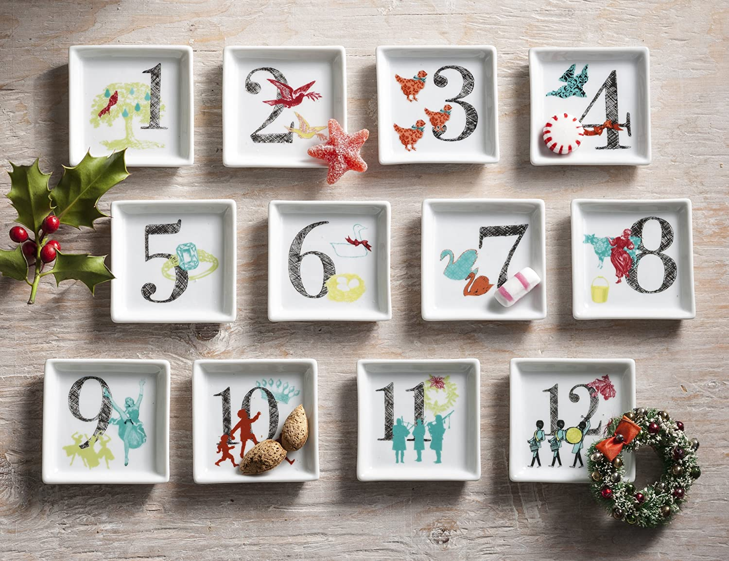 Rosanna 12 Days of Christmas Trinket Dishes & 12 Days of Christmas Plates Dinnerware and Gifts | WebNuggetz.com