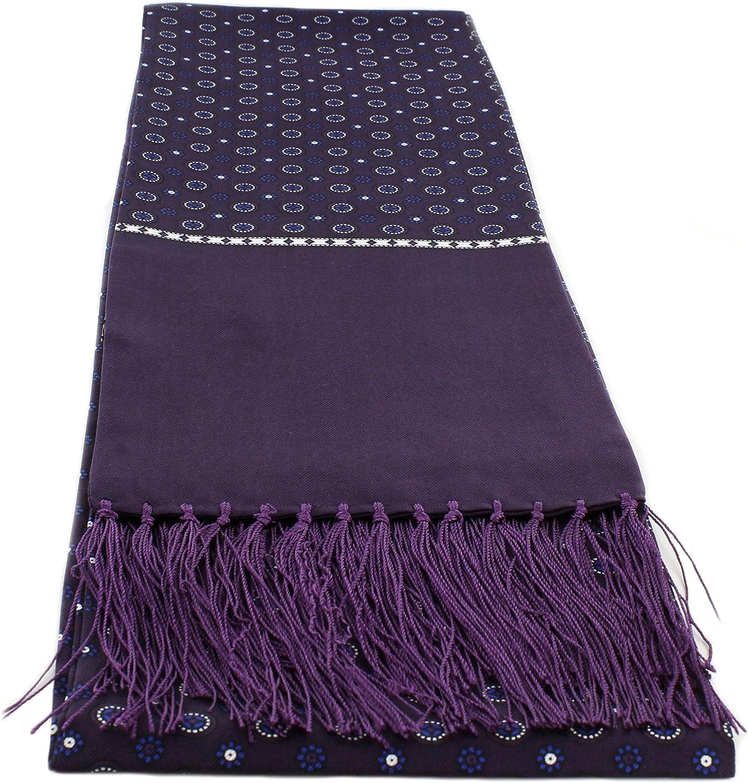 Circular Neat Silk Scarves