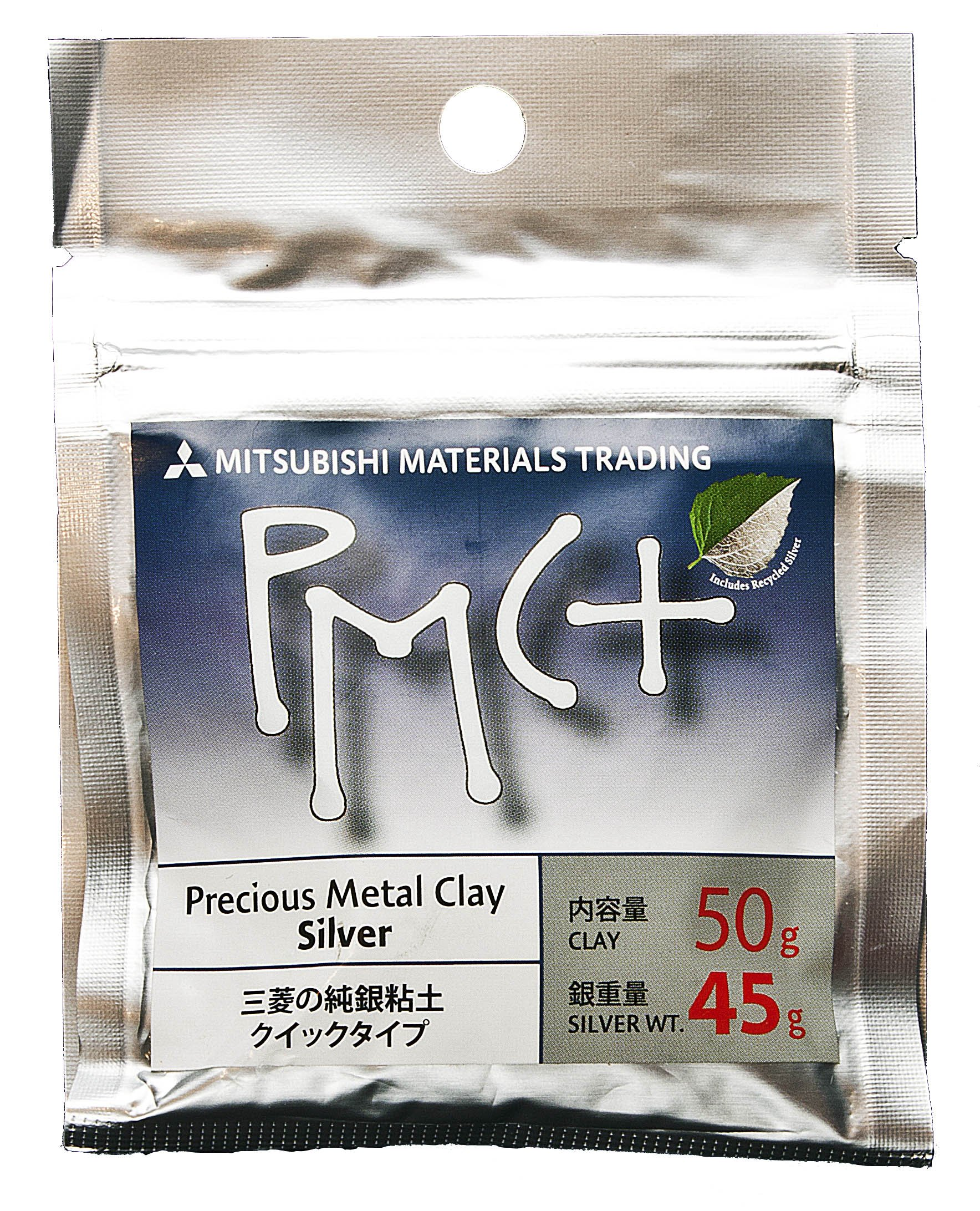 Pmc+ Silver Metal Clay - 45 Grams by Mitsubishi Materials