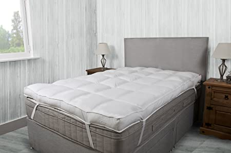 Delicieux Bedding Direct UK 10cm (4 Inch) Thick Mattress Topper Factory Slight  Second* 200TC