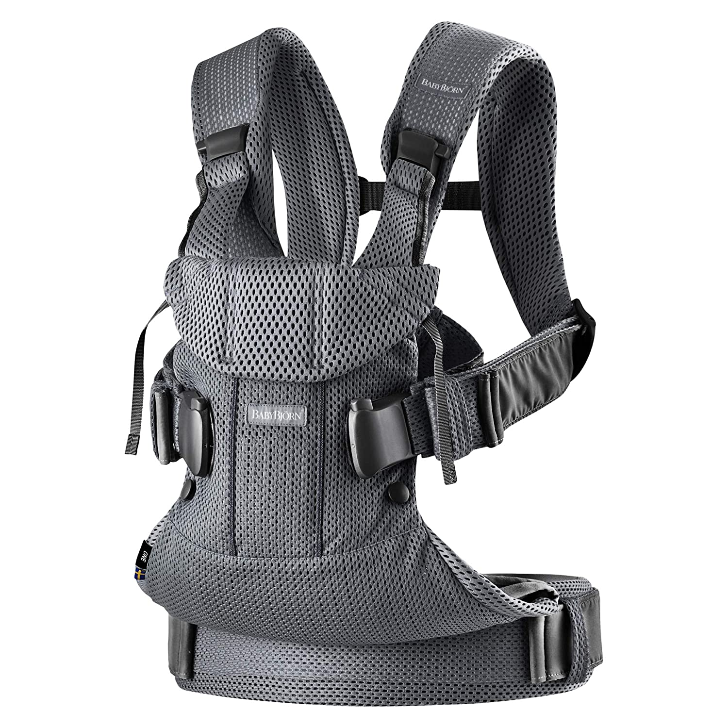 BABYBJÖRN Baby Carrier One Air, Anthracite, Mesh