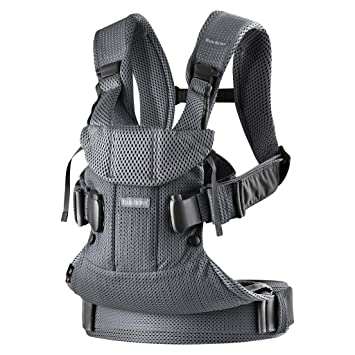 baby bjorn carrier air gray white