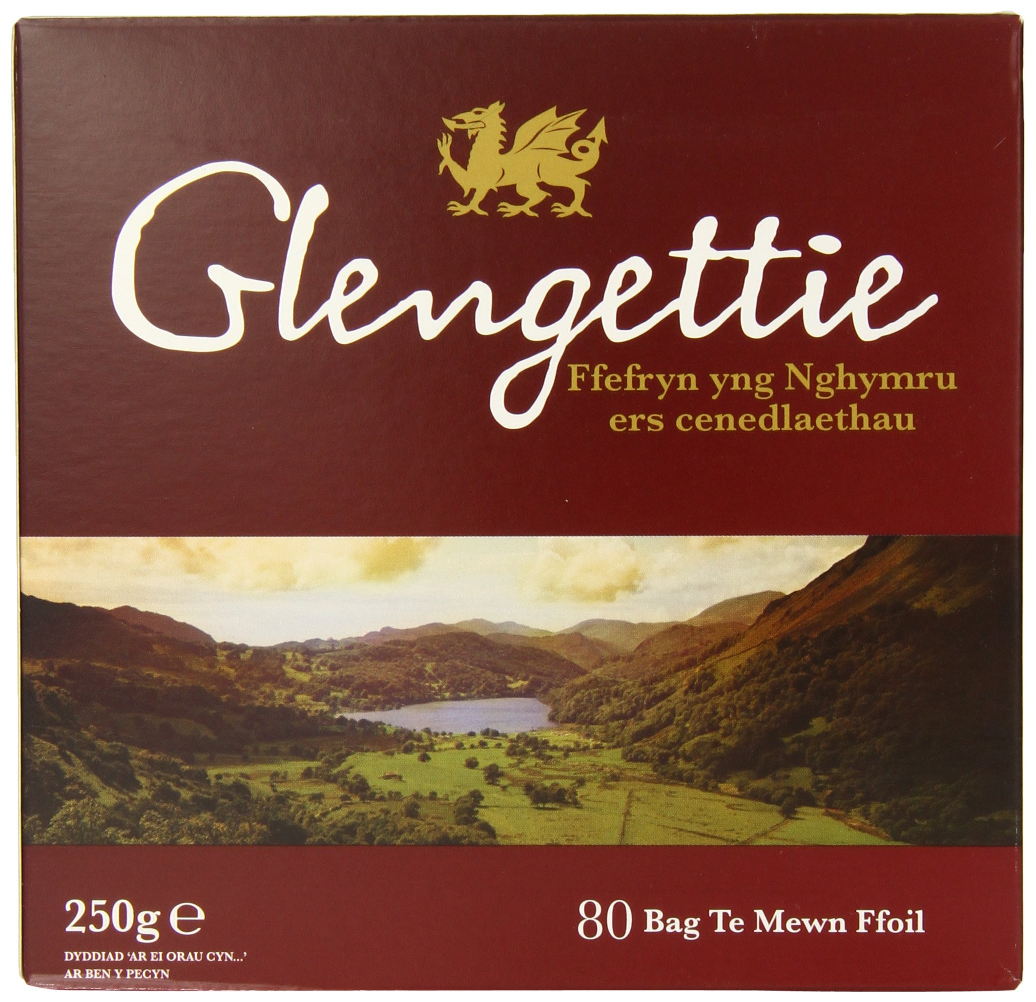 Glengetti Teabags, 80 Count (Pack of 6)