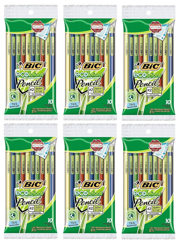 Medium Point BIC Pencil Xtra Life 0.7mm 24-Count