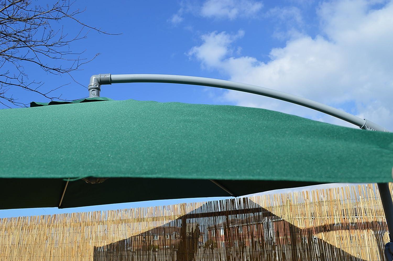 3 M para colgar Lean más de Banana para exteriores jardín – Soporte Sombrilla en verde: Amazon.es: Jardín
