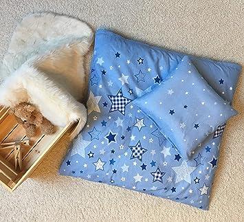 STERNE Baby Bettwasche Set Fur Wiege Kinderwagen Stubenwagen STARS 2 Teilig