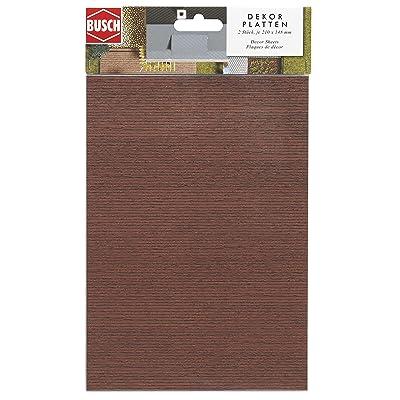 Busch 7039 Sheet Wood Planking 2/ HO Scenery Scale Model Scenery: Toys & Games [5Bkhe1204319]