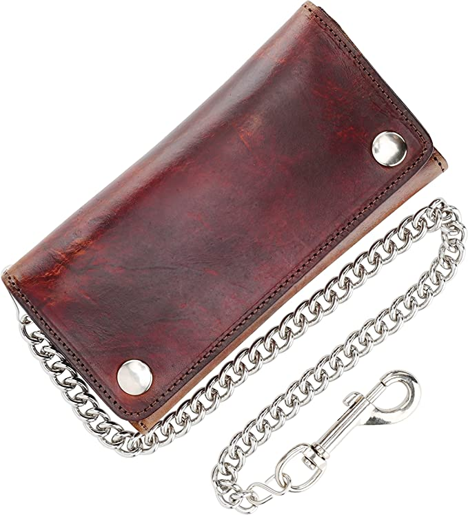 69-75 IH Pickup Leather Billfold With Drawing /& Your Name On It-Nice Quality