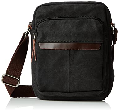 Amazon.com | Eshow Men's Small Canvas Ttraval School Work ...