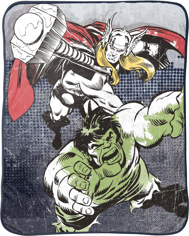 Jay Franco Thor Mighty Plush Throw, Avengers