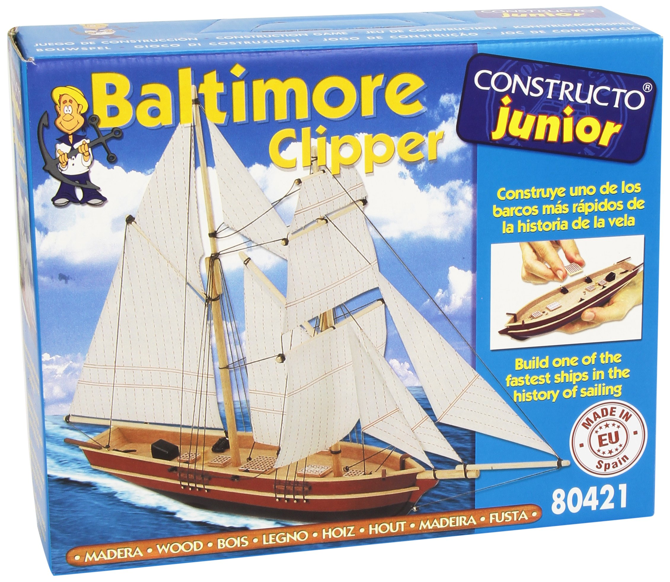 Constructo Baltimore Clipper Kit CNS80421