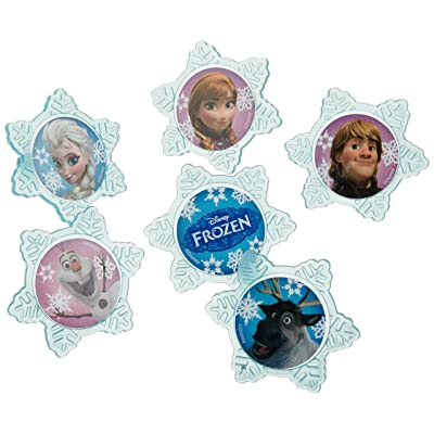 A Birthday Place Disney's Frozen 12 Count Cupcake Rings, Assorted: Kitchen & Dining