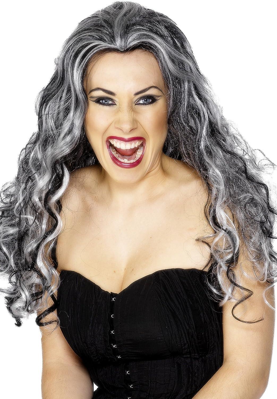 Smiffy's Renaissance Vamp Wig Costume