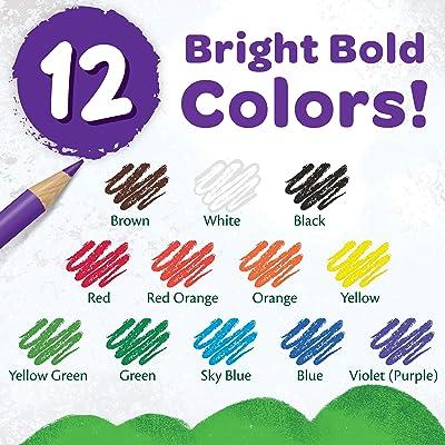 Parrot Premier 72ct Wooden Colored Pencils Soft Core Triangular-Shaped Pre-Sh