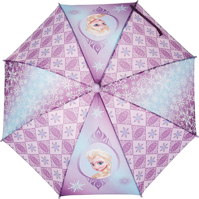 Elsa Queen Purple Girls//Kids New 649388 Frozen Disney Umbrella