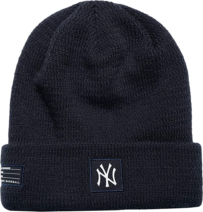 69fc4b5a357 New Era MLB New York Yankees Sport Stocking Knit Hat Beanie Cuff Skull Cap  Navy