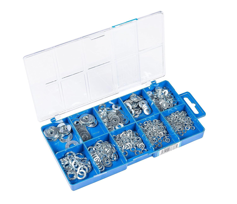 Connex Dp8500056 Flach- und Scheibenwaschanlage Sortimentskasten, 500- teili Conmetall