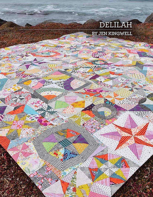 Delilah Quilt Pattern by Jen Kingwell Designs JKD 5552