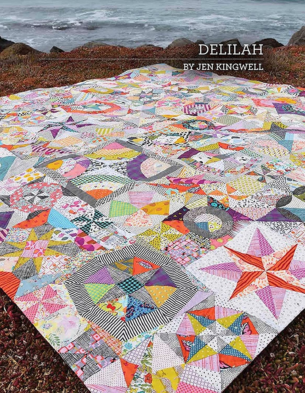 Delilah Quilt Pattern by Jen Kingwell Designs