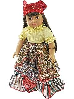Amazon.com: American Girl Doll Paw Patrol Vestido esta hecha ...