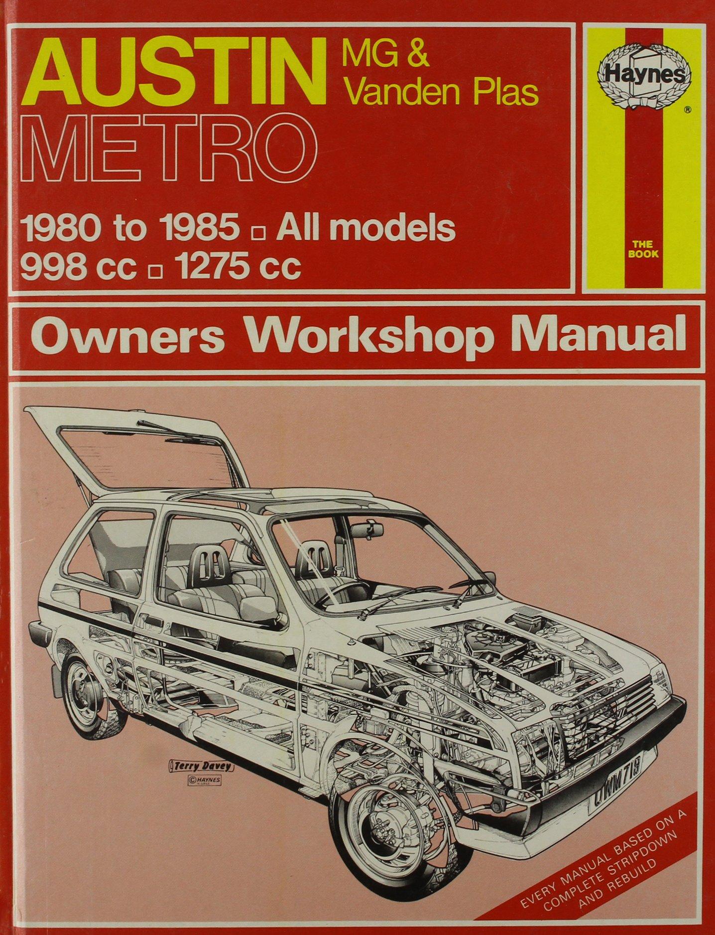 Austin Metro, MG and Vanden Plas 1980-86 All Models Owners Workshop Manual: Amazon.es: A. K. Legg: Libros en idiomas extranjeros