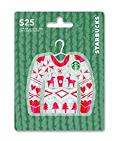 Starbucks Holiday Gift Card $25
