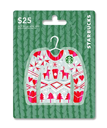 Amazon starbucks holiday gift card 25 gift cards starbucks holiday gift card 25 negle