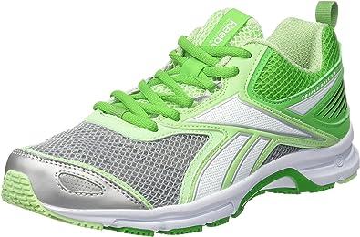Reebok Triplehall 5.0, Zapatillas de Running para Mujer, Verde/Blanco/Gris (Bright Green/Seafoam Green/White/Silver), 42.5 EU: Amazon.es: Zapatos y complementos