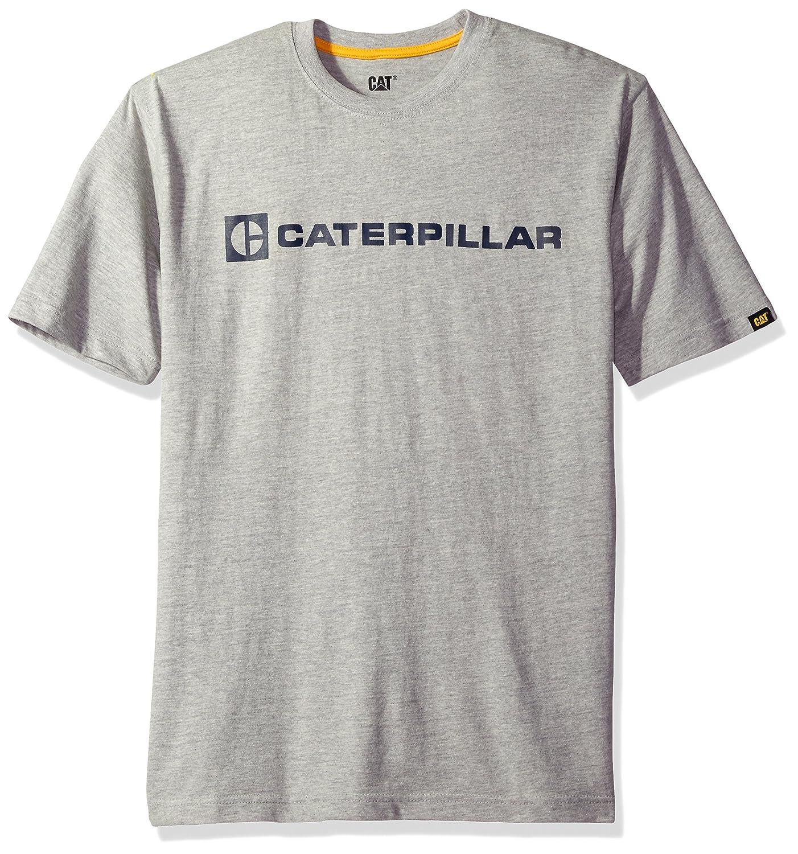 Caterpillar Men 's CブロックTシャツ B01N0RQ2L4 3L ヘザーグレー ヘザーグレー 3L