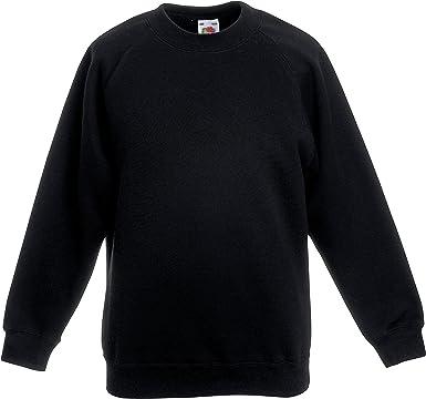 Boys Girls Unisex Jumper Sweatshirt Crew Round Neck School Uniform