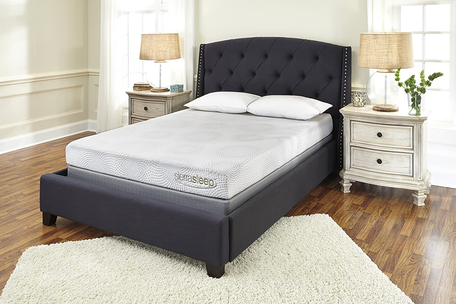Amazoncom Sierra Sleep by Ashley 7 Memory Foam and Gel Mattress