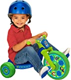 """Paw Patrol 10"""" Fly Wheels Junior Cruiser Ride-On Pedal-Powered Toddler Bike/Trike, Ages 2-4, for Kids 33""""-35"""" Tall and…"""