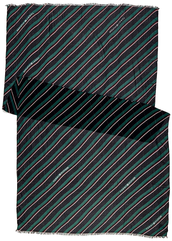 Tommy Hilfiger Regimental Stripes Print Scarf Sciarpa Donna