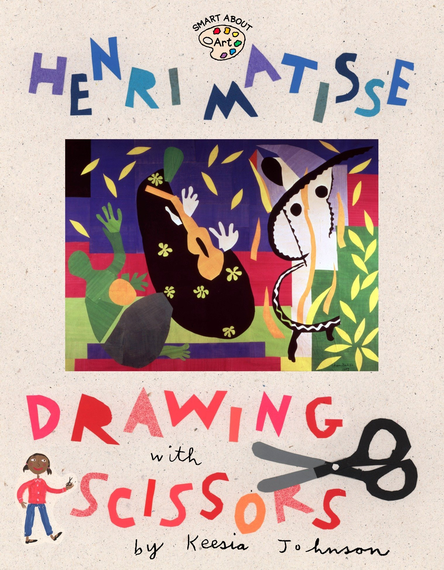 Henri Matisse  Drawing With Scissors  Smart About Art