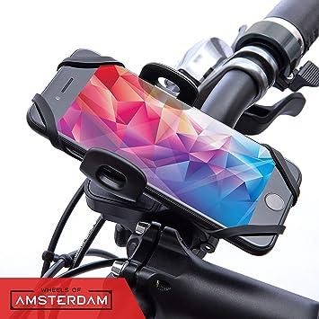 Wheels of Amsterdam - Soporte de móvil para Bicicleta y Moto ...
