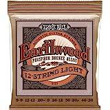 Ernie Ball Earthwood Phosphor Bronze 12-string Light Acoustic Guitar Strings - 9-46 Gauge (P02153)