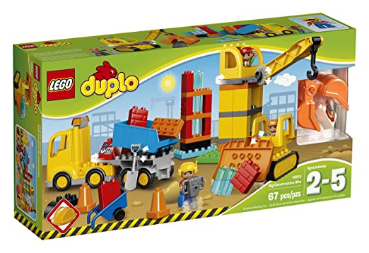 Lego Duplo Town Big Construction Site Building Kit $47.97 @ Amazon.ca