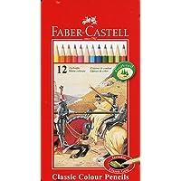 Faber-Castell Metal Kutu Boya Kalemi, 12 Renk