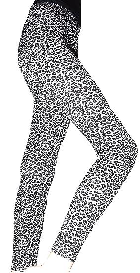 4d3bc92d38c Lace Poet Beautiful Gray Leopard Animal Print Leggings/Tights