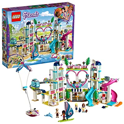 LEGO Friends Heartlake City Resort 41347 Top Hotel Building Blocks Kit for Kids Aged 7-12, Popular and Fun Toy Set for Girls (1017 Pieces): Toys & Games