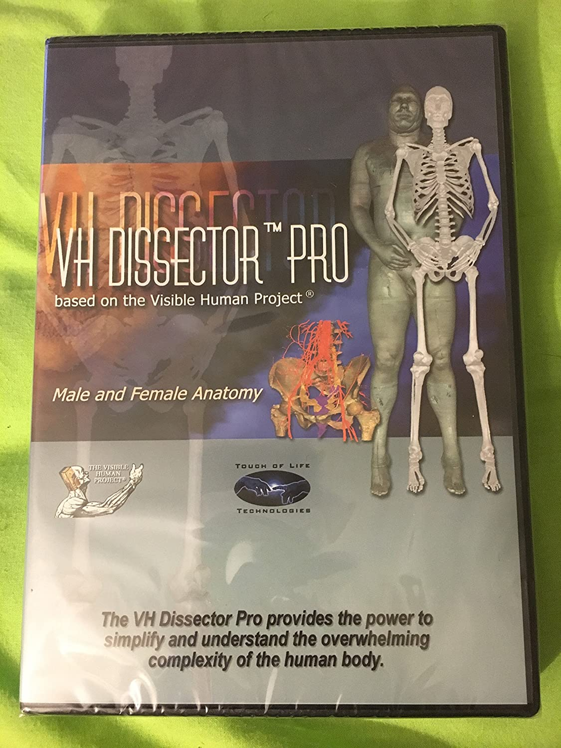 Amazon Vh Dissector Pro Based On The Visible Human Project