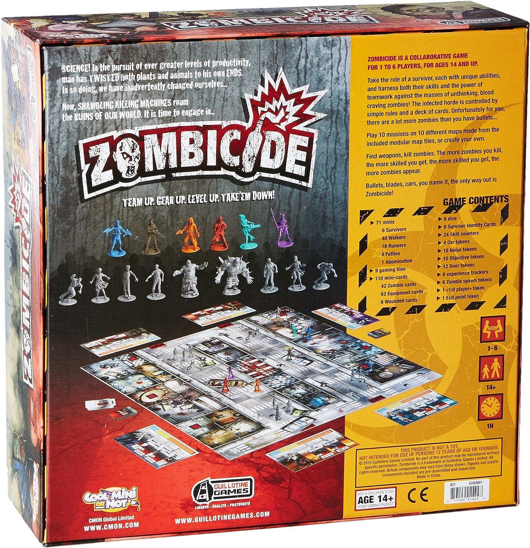 Zombicide Winning Moves - Juego de Mesa (Contenido en inglés) [Importado de Reino Unido]: Amazon.es: Juguetes y juegos