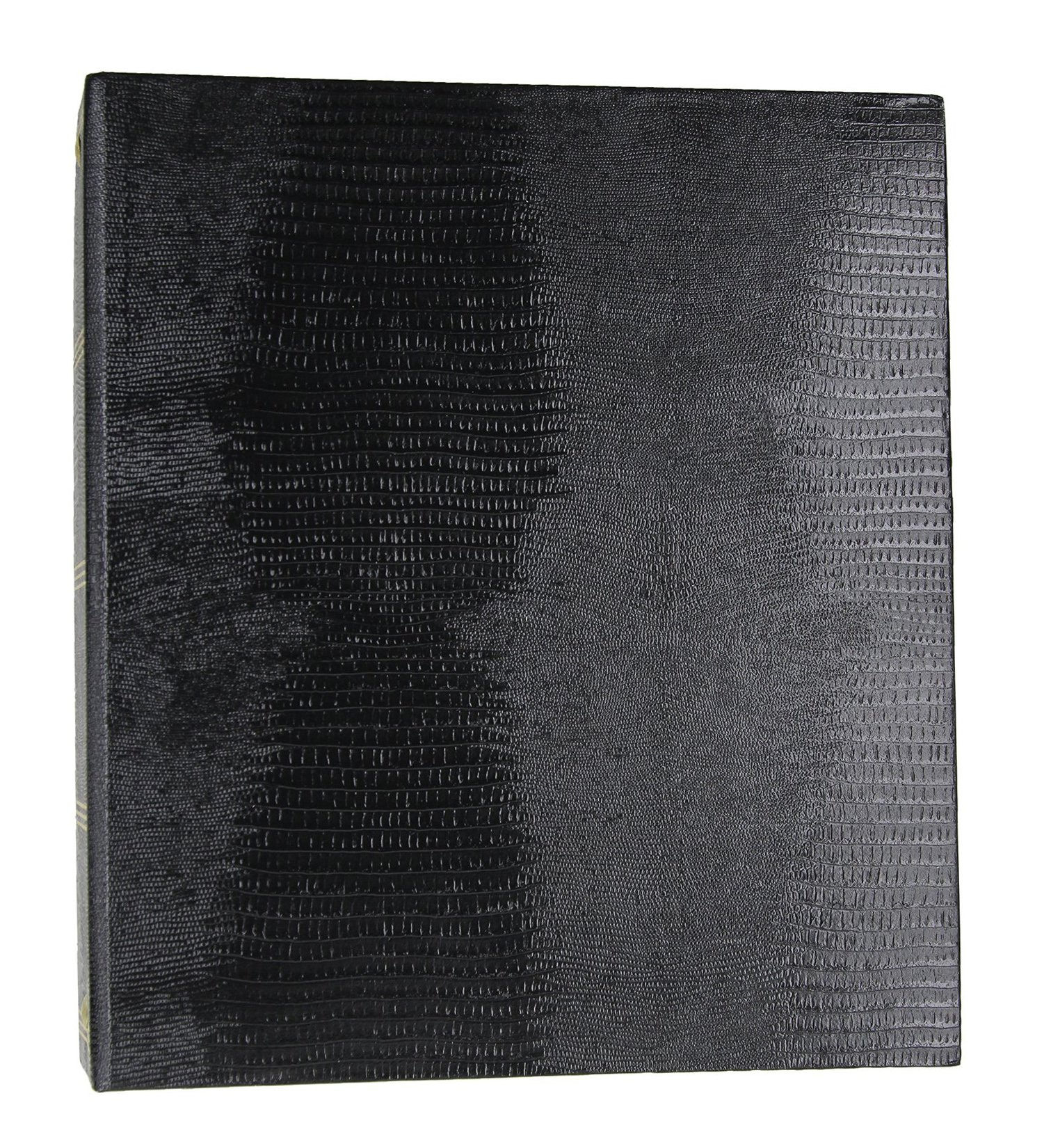 Photo Albums Magnetic 3-Ring with 100 Pages, 8.25'' x 10.5'', Black Color