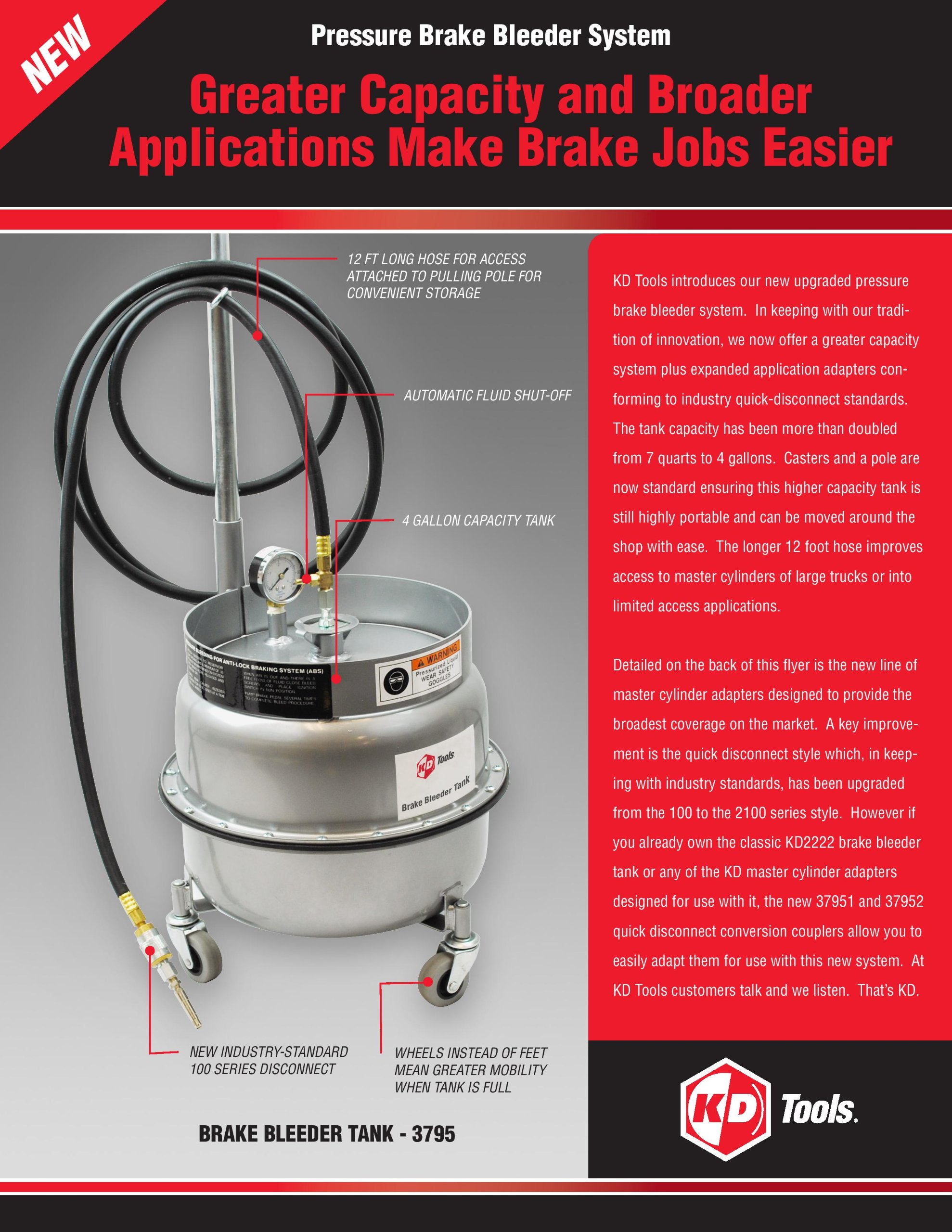 GEARWRENCH 3795D Brake Bleeder Tank by GearWrench (Image #2)