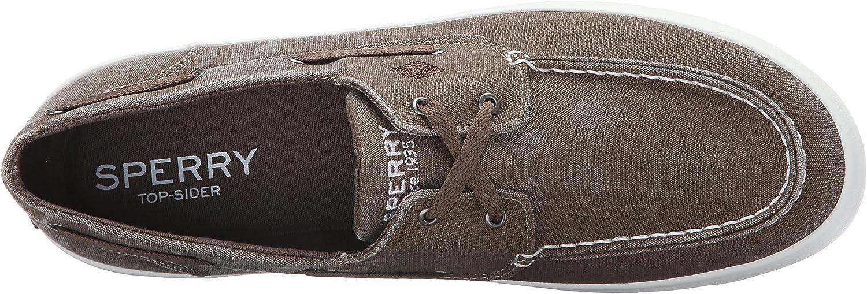 Sperry Top-Sider Men's Wahoo 2-Eye Fashion Sneaker Chocolate